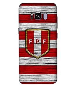 ColorKing Football Peru 10 Multi Color shell case cover for Samsung S8 Plus
