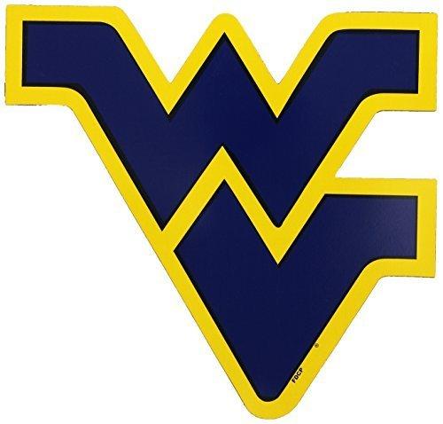NCAA West Virginia Mountaineers 12-inchマグネットby Fremont Die B01AKEK8ZC  - -