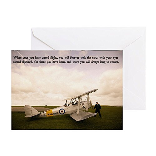 th Getting Ready To Fly - Greeting Card, Note Card, Birthday Card, Blank Inside Matte ()