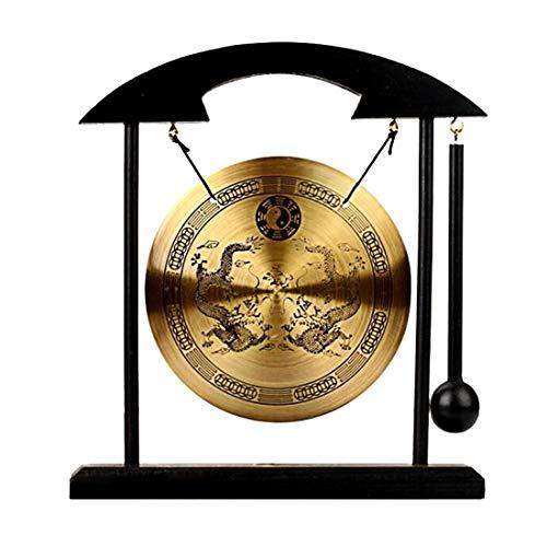 - Zen Art Brass Feng Shui Desktop Gong W Fengshuisale Red String Bracelet H1302