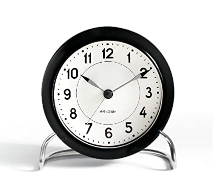 Arne Jacobsen Table Clock Station with Alarm Amazon source 43672