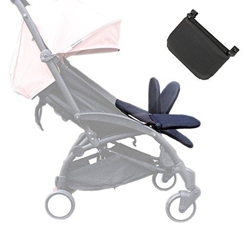 Reposapiés para carriola Babyzen YOYO + accesorios para reposapiés para carriola 2018