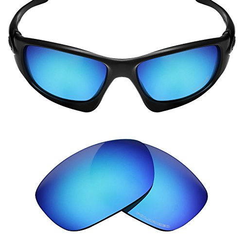 Mryok+ Polarized Replacement Lenses for Oakley Ten X - Ice - Lenses Oakley Ten