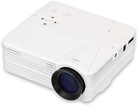 Luckyin Mini proyector LED portátil de 80 lúmenes 1080P HD ...