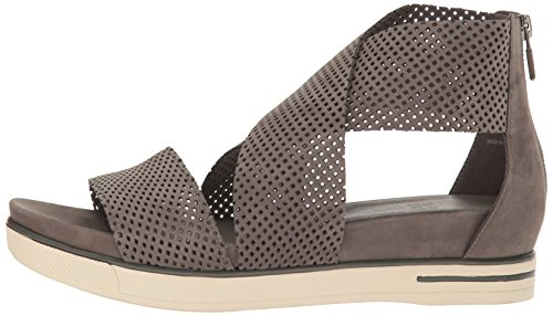 Eileen Fisher Women's Sport2-Nu Flat Sandal, Graphite, 10 M US by Eileen Fisher (Image #5)