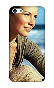 Design For Iphone 5c Premium Tpu Case Cover Evangeline Lilly Windows Protective Case