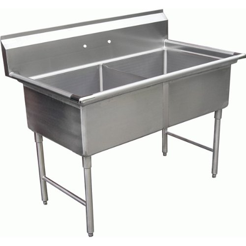 Two Compartment Utility Sink - 4