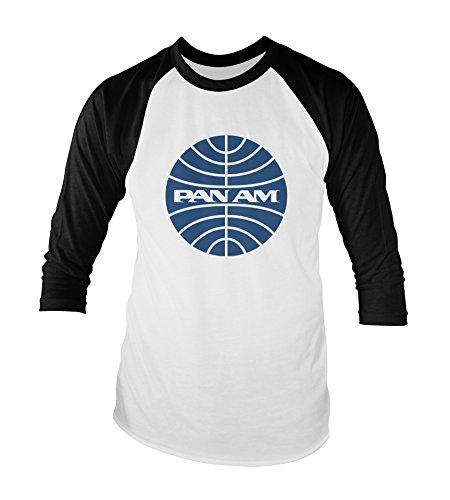 pan-am-unisex-baseball-t-shirt-all-sizes-colours-xl-white-black
