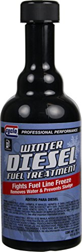 Cyclo Diesel Anti Gel Fuel Treatment & Injector Cleaner, 8 fl oz, Case of 12