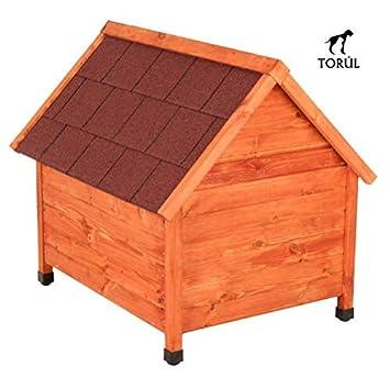 Spike Premium Torúl Caseta de Madera Classic para Mascotas Perros (XXL): Amazon.es: Productos para mascotas