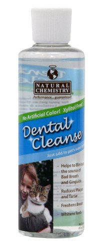 Natural Chemistry Dental Cleanse Oral Hygine Treatment Waterbowl Additive for Cats, 8-Ounce, My Pet Supplies