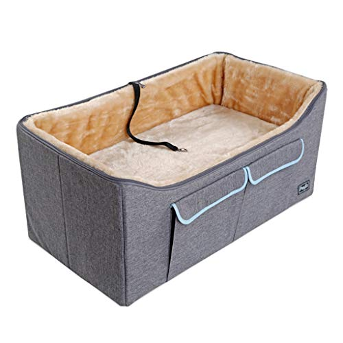 AIDELAI Pet Bucket Booster Seat,On Seat Car Booster for Dogs, Safe and Comfortable, Car Travel Safety Seat Pet Carrier Bag Pet Supplies (Size : 75 × 40 × 35cm)