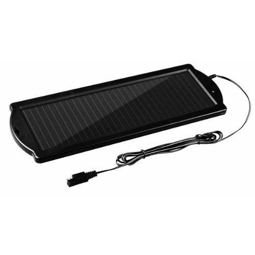 Thunderbolt Solar Battery Charger 1.5 Watt 12v Amorphous Crystal
