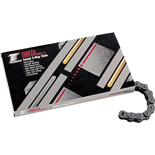 Omega Link Chain - Tsubaki 525 Omega O-Ring Chain Steel-120 Links
