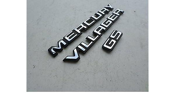 Amazon 94 Mercury Villager Gs Rear Trunk Emblem 90896 0b100