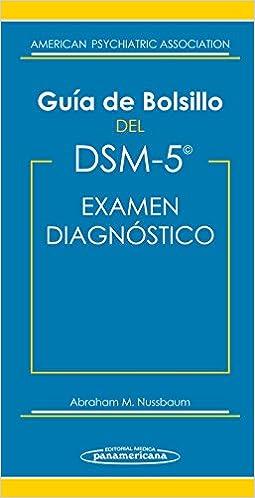 Guía De Bolsillo Del Dsm-5. Examen Diagnóstico por Apa American Psychiatric Association epub