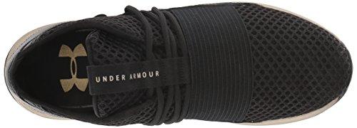 Faded Sneaker Metallic 12 X Armour Gold Breathe Women's Lace 001 Black Nm Under APRSqgW