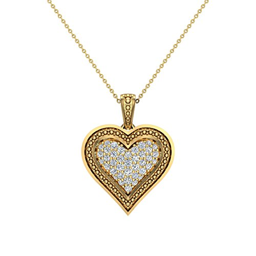 0.56 Ct Heart - 2
