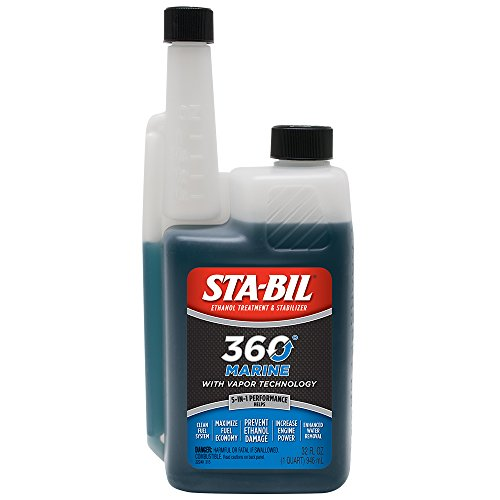 STA-BIL 360 22240-6PK Marine with Vapor Technology, 32 oz. (Pack of 6)