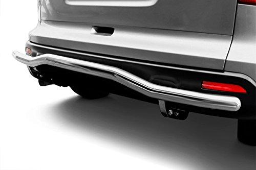 Kasei 093943SS Stainless Steel Rear Bumper Guard – Single Tube