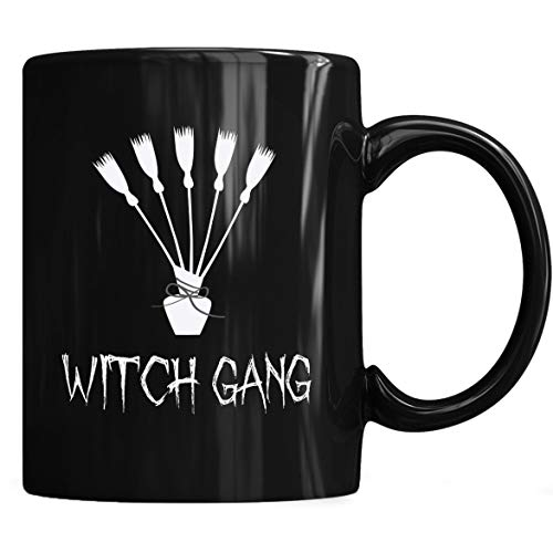 Witch gang halloween t-shirt costume Mug, Witch Gang Halloween Costume Mug Coffee Mug 11oz & 15oz Gift Black Tea -