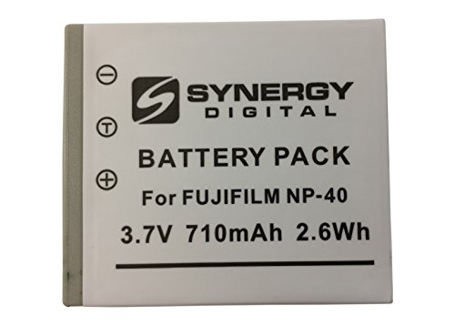 SDNP40 Lithium-Ion Battery - Rechargeable Ultra High Capacity (3.7V 710 mAh) - Replacement for Fuji NP-40, Pentax D-LI8, Panasonic CGA-S004, & Minolta NP-1 Batteries For Fujifilm FinePix F402, F470, F480, F485, F60fd, F610, F650, F700, F710, F810, J50,