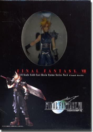 B000GH0LKQ Final Fantasy VII Cloud Strife Resin Statues 1/8 Scale 41BX181HCNL.