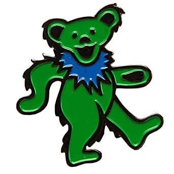 a25f582720d Image Unavailable. Image not available for. Color  Grateful Dead Dancing  Bears Enamel Pin