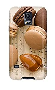 Best New Super Strong Chocolate Macaroon Cookies Tpu Case Cover For Galaxy S5 6621437K71109871