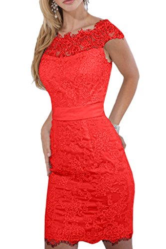 Promgirl House - Robe - Crayon - Femme -  Rouge - 48
