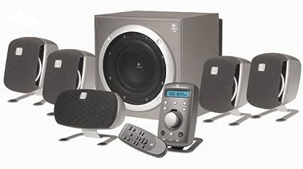 Verrassend Logitech Z680 5.1 THX certified Home Theatre Speakers with 505 QQ-97