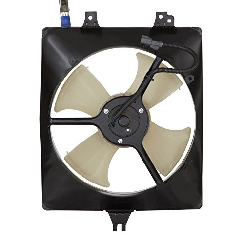 Spectra Premium CF18010 Air Conditioning Condenser Fan Assembly (Accord Honda Condenser 2002)