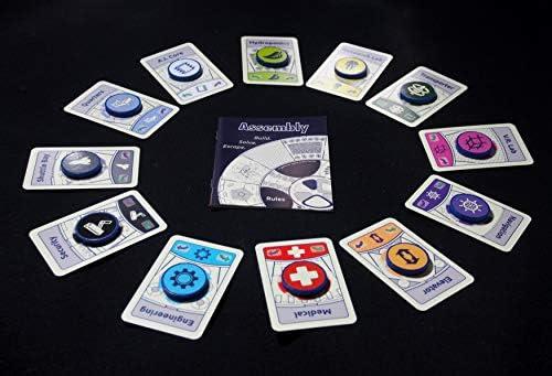 Wren Games Assembly - Juego de cartas de escapar (un adictivo y mental que se dobla la mente): Amazon.es: Juguetes y juegos