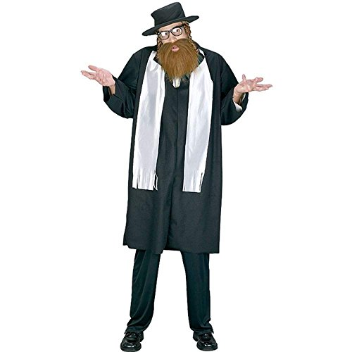 FunWorld Mens Adult Rabbi Costume