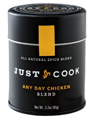 ORGANIC Gourmet Any Day Chicken Blend - Just Cook 3.2 oz. – NON-IRRADIATED, GLUTEN-FREE, PALEO-FRIENDLY & VEGAN | You'll never get tired of chicken with this sophisticated blend of flavors!