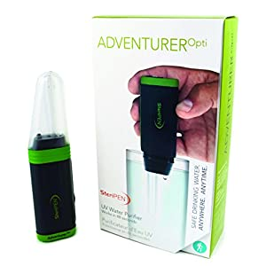 SteriPEN Adventurer Opti Personal,Handheld UV Water Purifier
