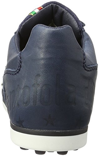 Pantofola d'Oro Imola Soccer Uomo Low - Zapatillas de casa Hombre Azul (Dress Blues)