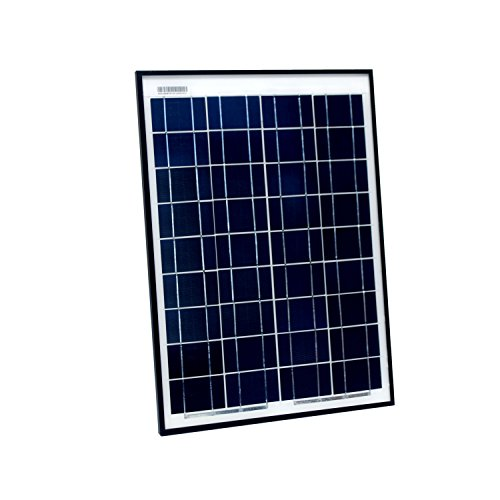 ALEKO PP20W12V 20 Watt 12 Volt Polycrystalline Solar Panel for Gate Opener Pool Garden ()