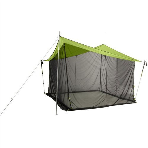 Nemo Equipment Bugout Tent (Green/Black, 12 x 12-Feet)