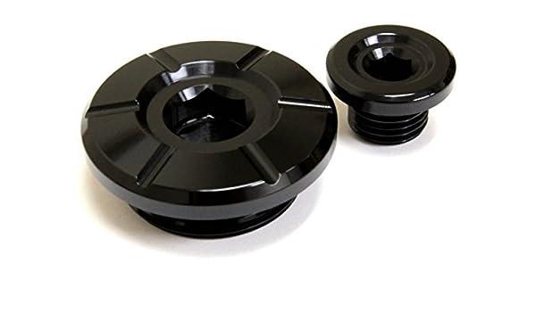 for Suzuki RM-Z250 RM-Z450 RMZ 250 450 BLUE MotoSculpt Engine Plugs Caps