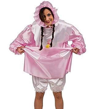 Disfraz de bebe niña disfraz de adulto - Talla única - Rosa - 092 ...