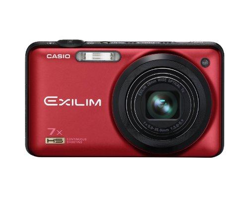 CASIO EXILIM EX-FC200S Red EX-FC200SRD - International Version (No Warranty)