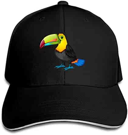 814803eea5b iloue Toucan Cartoon Baseball Cap Dad Hat Low Profile Adjustable for Men  Women