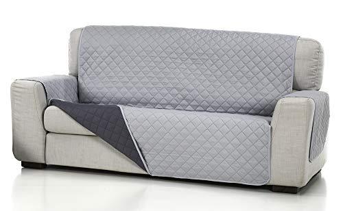 Belmarti Cubre Sofa Acolchado 4/P, Gris Claro, 4 PLAZAS ...