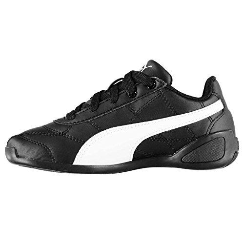 Puma Kinder Tune Cat Sneaker Schwarz/Weiß