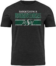 Saskatchewan Roughriders CFL Moxie Heathered T-Shirt - Charcoal