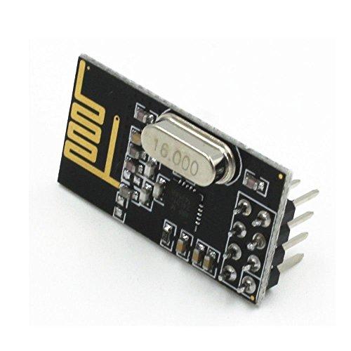 Longruner NRF24L01+ 2.4GHz Antenna Wireless Transceiver RF Transceiver Module Arduino Compatible (10PCS) by Longruner (Image #4)