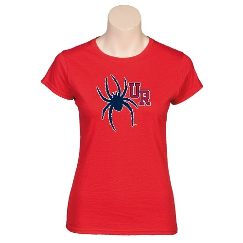 Richmond Next Level Ladies SoftStyle Junior Fitted Red Tee 'UR Spider'