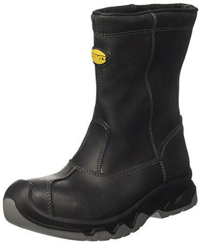 Diadora Diablo Boot High S3 Ci, Unisex Adults' work boots, Black (Nero), 7.5 UK (41 EU)