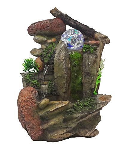 Tabletop Fountain Indoor Fountain Waterfall Nature's Garden